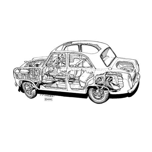Autoklassiker answer: FORD PREFECT