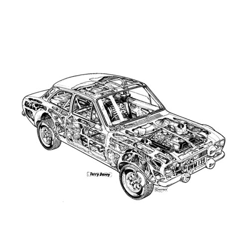 Autoklassiker answer: ESCORT RS2000