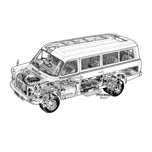 Autoklassiker answer: FORD TRANSIT