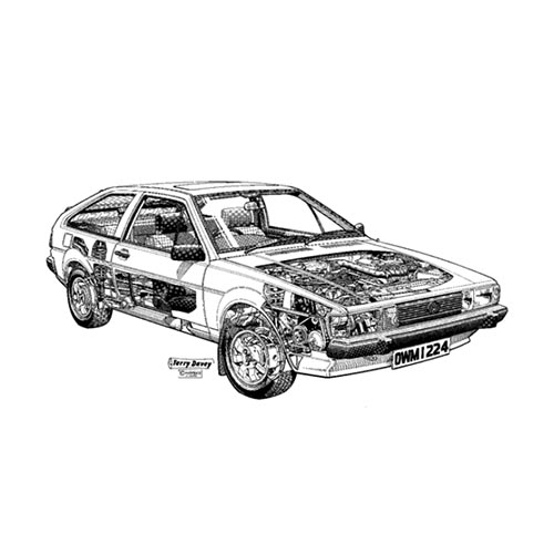 Autoklassiker answer: SCIROCCO