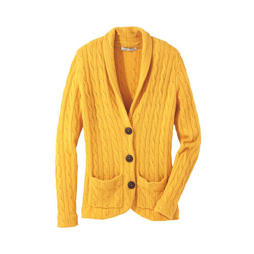 Autumn answer: CARDIGAN
