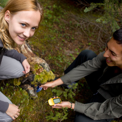 Autumn answer: GEOCACHING