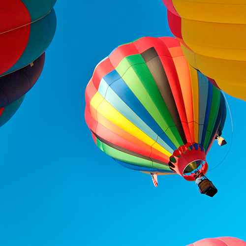 Autumn answer: HOT AIR BALLOONS