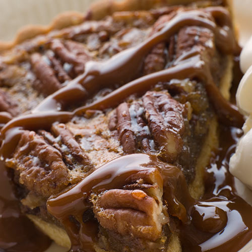 Autumn answer: PECAN PIE