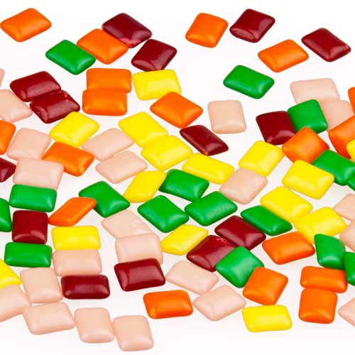 Candy answer: CHICLETS