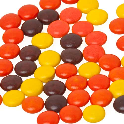 Candy answer: REESES PIECES