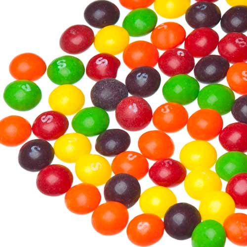 Candy answer: SKITTLES
