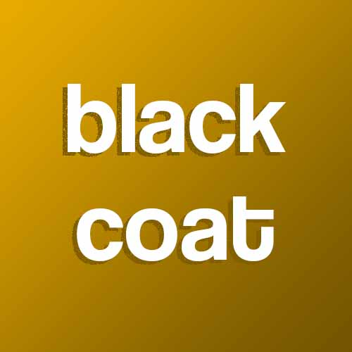 Catchphrases answer: BLACK OVERCOAT
