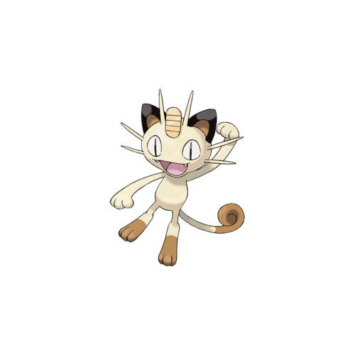 Cats answer: MEOWTH