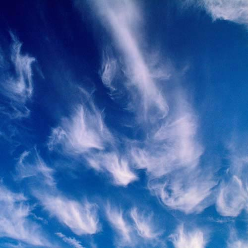 C is for... answer: CIRRUS CLOUDS