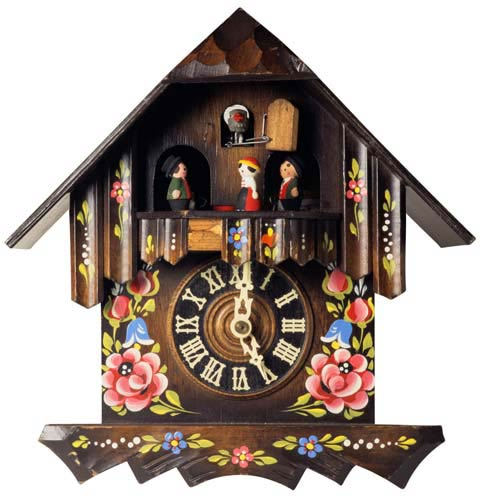 C is for... answer: CUCKOO CLOCK