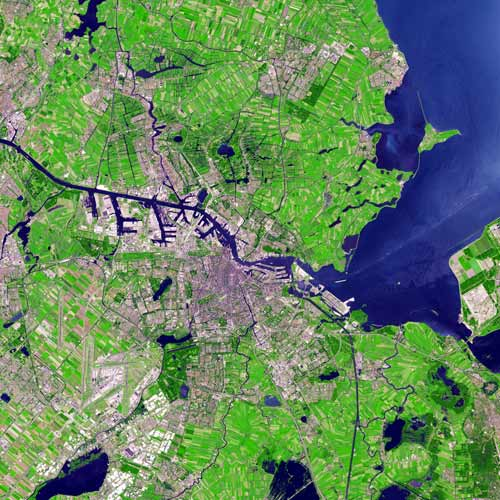 Earth from Above answer: AMSTERDAM