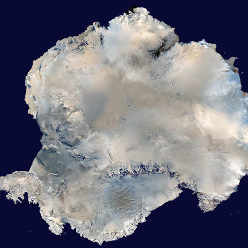 Earth from Above answer: ANTARCTICA