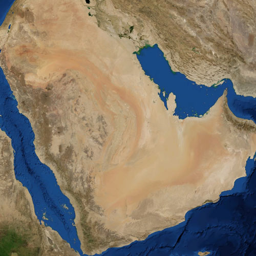 Earth from Above answer: ARABIAN DESERT