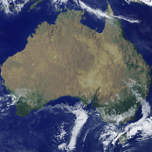 Earth from Above answer: AUSTRALIA