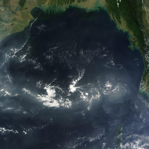 Earth from Above answer: BAY OF BENGAL
