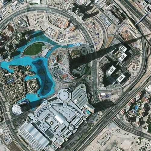 Earth from Above answer: BURJ KHALIFA
