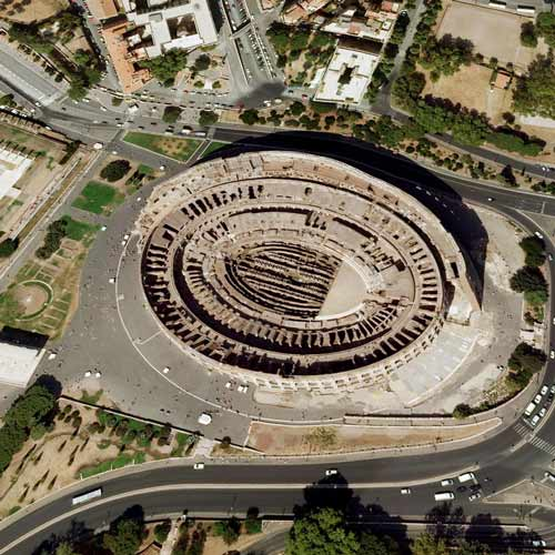 Earth from Above answer: COLOSSEUM