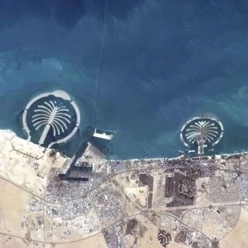 Earth from Above answer: DUBAI