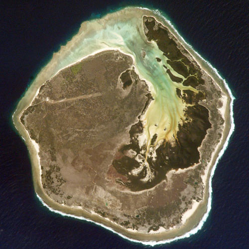 Earth from Above answer: EUROPA ISLAND