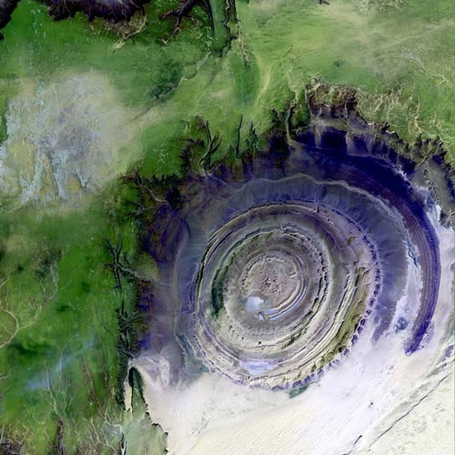 Earth from Above answer: EYE OF AFRICA