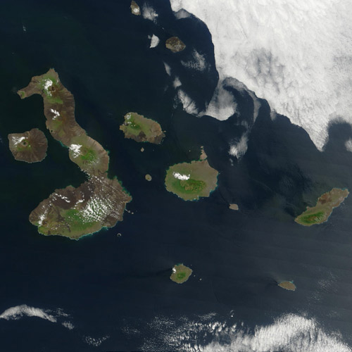 Earth from Above answer: GALAPAGOS