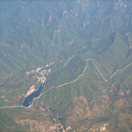 Earth from Above answer: GREAT WALL