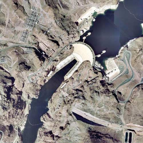 Earth from Above answer: HOOVER DAM