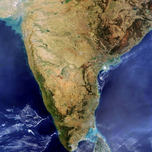 Earth from Above answer: INDIA