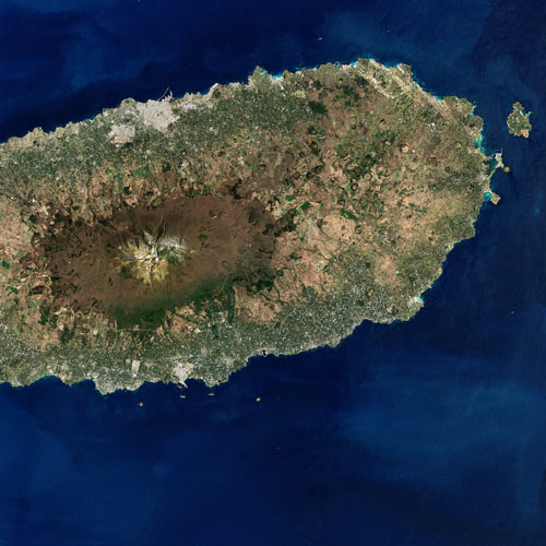 Earth from Above answer: JEJU ISLAND