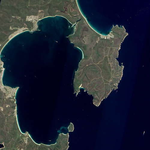 Earth from Above answer: JERVIS BAY