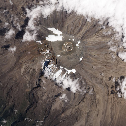 Earth from Above answer: KILIMANJARO