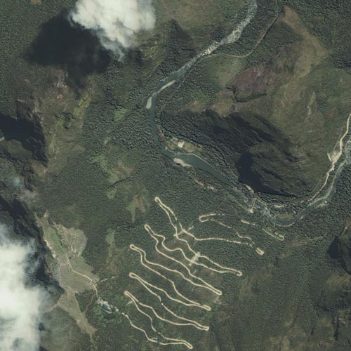 Earth from Above answer: MACHU PICCHU