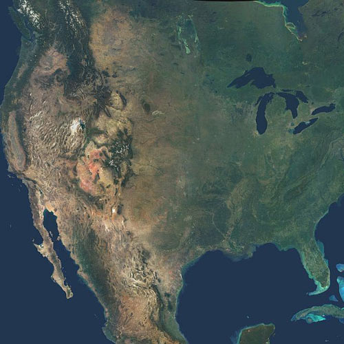Earth from Above answer: NORTH AMERICA