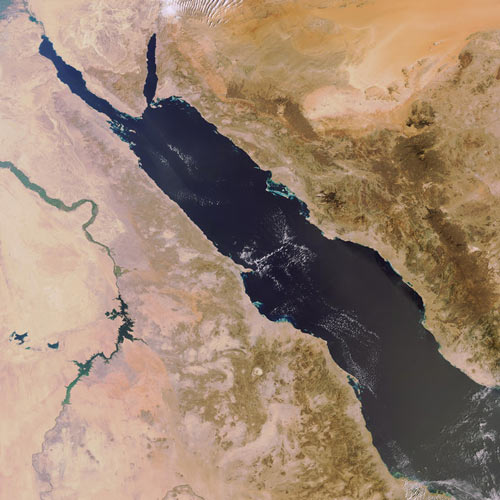 Earth from Above answer: RED SEA