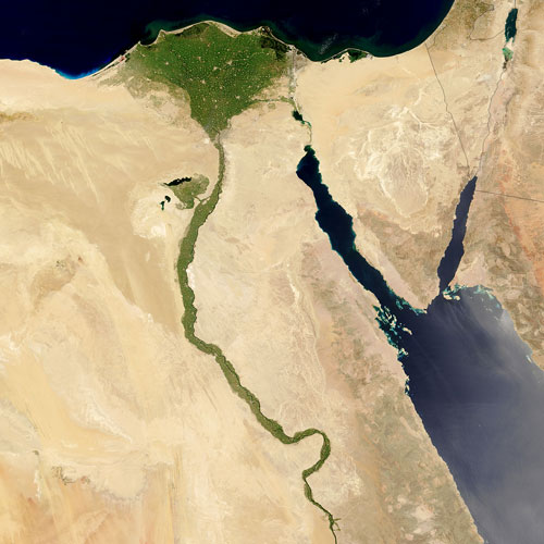 Earth from Above answer: RIVER NILE