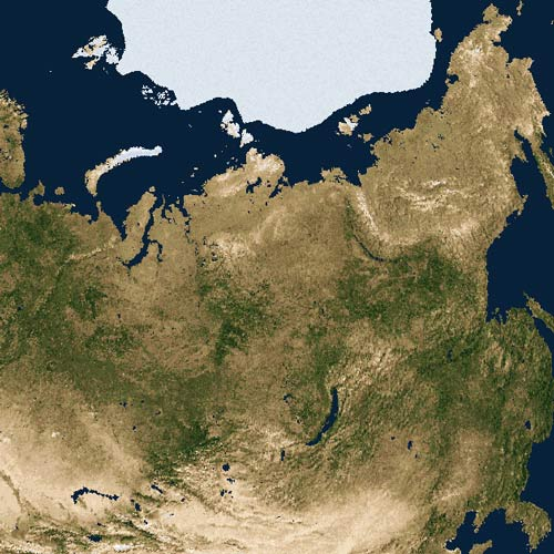 Earth from Above answer: RUSSIA
