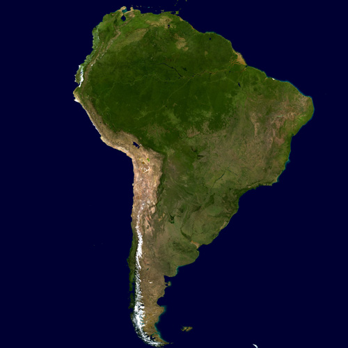Earth from Above answer: SOUTH AMERICA