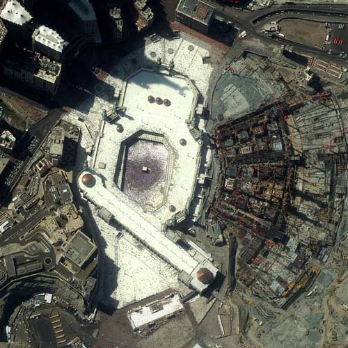 Earth from Above answer: THE KAABA