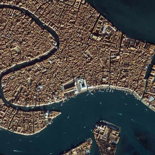 Earth from Above answer: VENICE