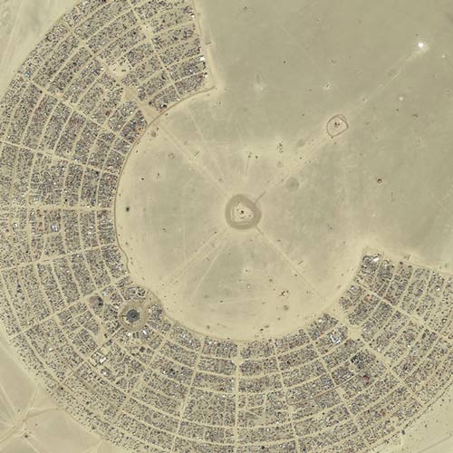 Earth from Above answer: BURNING MAN