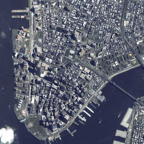 Earth from Above answer: MANHATTAN