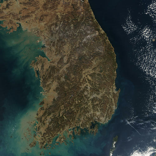 Earth from Above answer: SOUTH KOREA