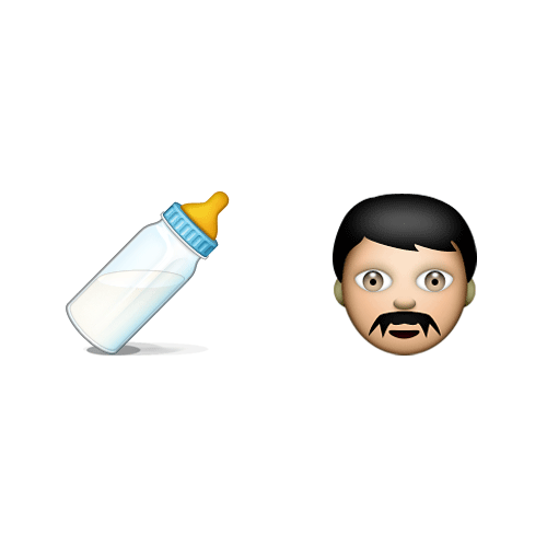 Emoji Quiz 3 answer: MILKMAN