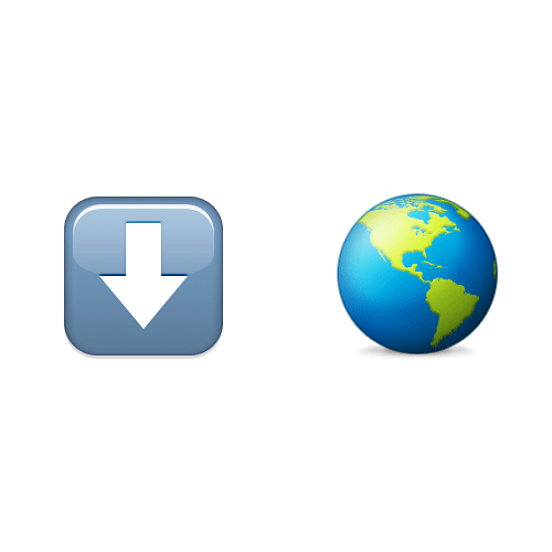 Emoji Quiz 3 answer: DOWN UNDER