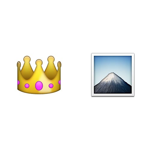 Emoji Quiz 3 answer: KING OF THE HILL