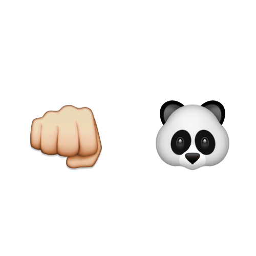 Emoji Quiz 3 answer: KUNG FU PANDA