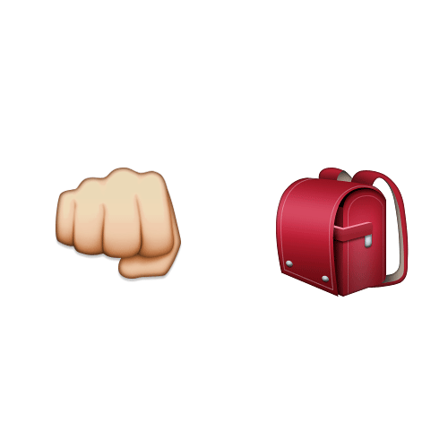 Emoji Quiz 3 answer: PUNCHBAG