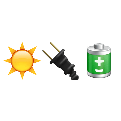 Emoji Quiz 3 answer: SOLAR POWER
