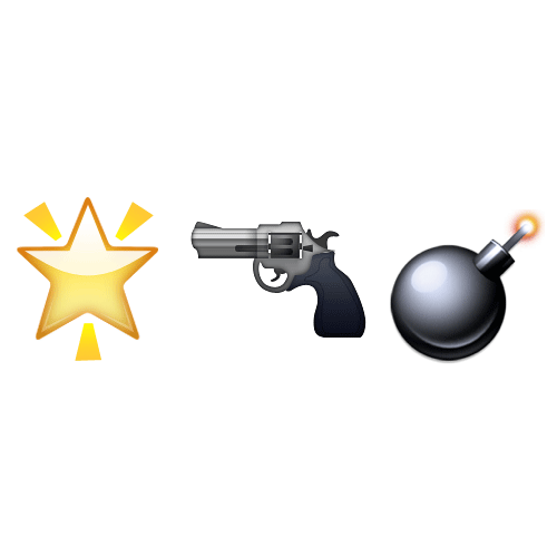 Emoji Quiz 3 answer: STAR WARS